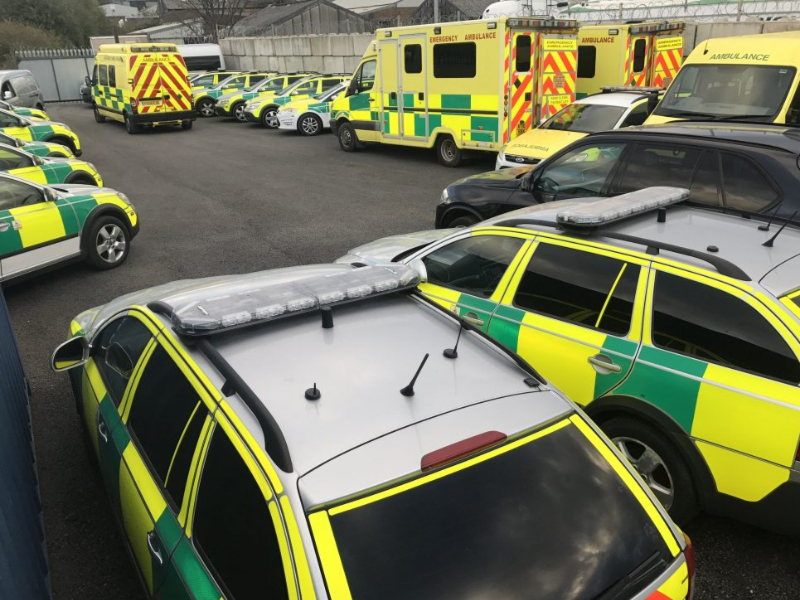 Echo Fire and Medical - Medical Event Sheffield